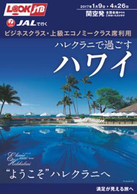 JALで行く ビジネスクラス・上級エコノミークラス席利用 ハレクラニで過ごすハワイ
