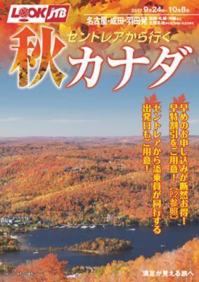 【9月〜10月】セントレアから行く秋カナダ