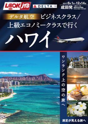 デルタ航空ビジネスクラス・上級エコノミークラスで行く!ハワイ