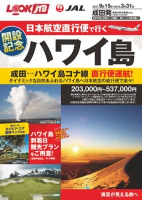 日本航空直行便で行くハワイ島